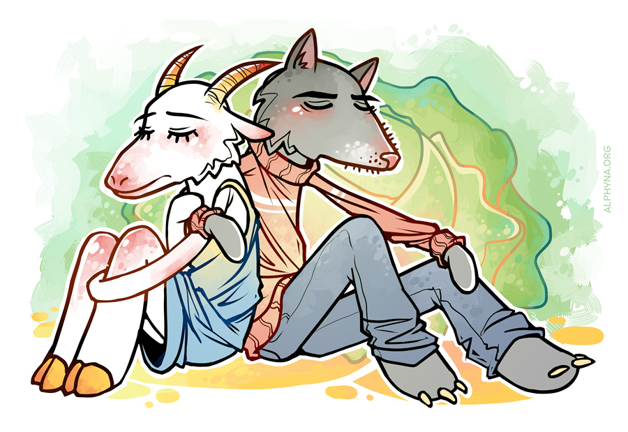 wolf and goat copy