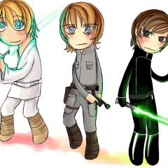 трёхцветный Люк (2009)